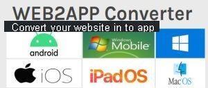 Convert your website in to app
